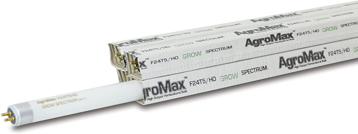 """F24T5 BLOOM or GROW SPECTRUM FLUORESCENT LAMPS 24/"""" 2ft 24W 25 3000K or 6500K"""