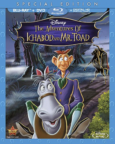Animated Halloween Movies 2000 (The Adventures Of Ichabod And  Mr. Toad)