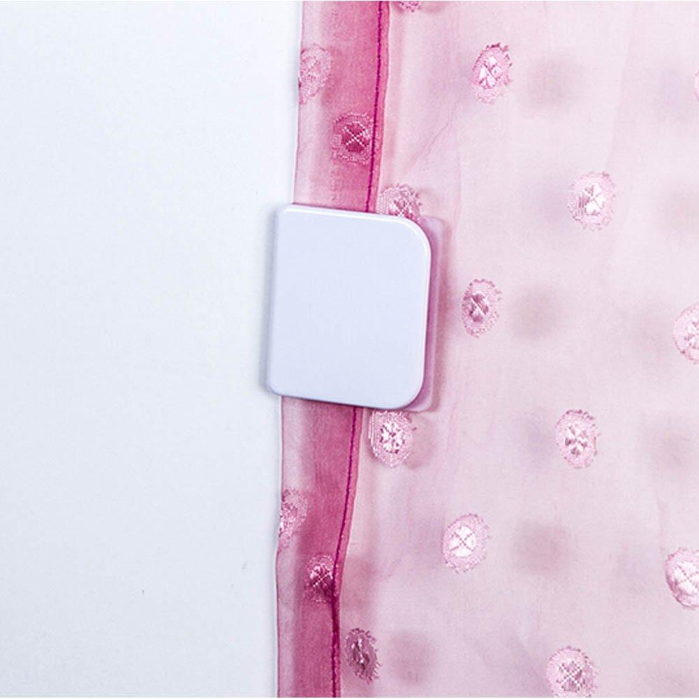 1,96 x 1,77 pulgadas Juego de 2 clips para cortina de ducha EMVANV