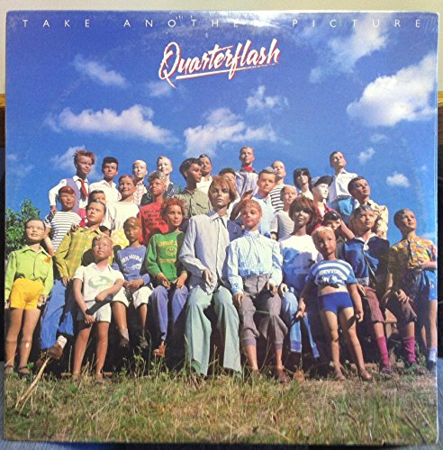 Quarterflash Mint / NM Stereo Lp & Printed Lyric Sheet Sleeve - Take Another Picture - Geffen 1983