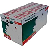 Swan Extra Slim Menthol Cigarette Filter Tips, 20 Boxes Per Sleeve, 120 Per Box by Tobacco Heaven