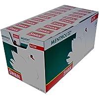 Swan Extra Slim Menthol Cigarette Filter Tips, 20