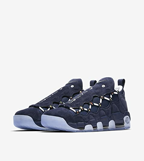 separation shoes f1fbe 13a55 Nike Air More Money QS, Scarpe da Fitness Uomo, Multicolore (Midnight Navy/