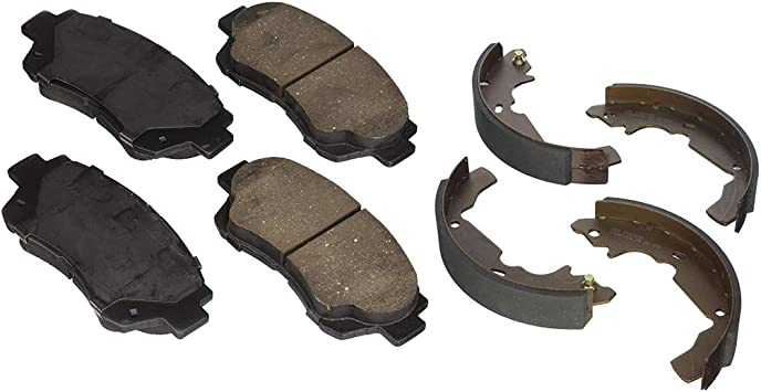 Rear Ceramic Brake Pads /& Brake shoes 2SET For Toyota Sienna Centric Front