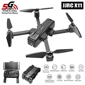 JW-WRJ 5G WiFi FPV Dron Plegable, con GPS Full HD 2K cámara de ...
