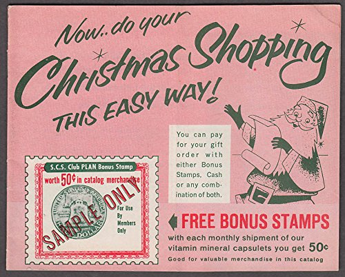 scs club christmas shopping mail order catalog 1960s camera health gadgets drugs - Free Christmas Catalogs Mail