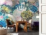 Komar 8-941 Frisky Flowers Wall Mural