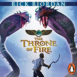The Throne of Fire: The Kane Chronicles, Book 2 Audiobook