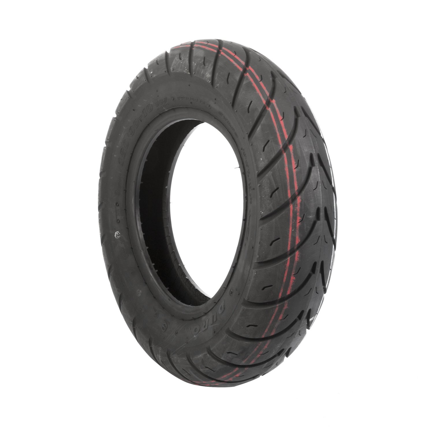 Duro HF290 Scooter Tire - Front/Rear - 130/90-10 , Position: Front/Rear, Tire Size: 130/90-10, Tire Type: Scooter/Moped, Rim Size: 10, Tire Ply: 4, Load Rating: 61, Speed Rating: J 25-29010-130