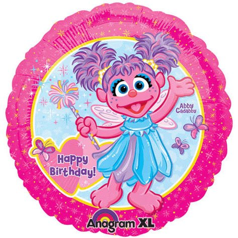 Abby Cadabby 18″ Foil Balloon, Health Care Stuffs
