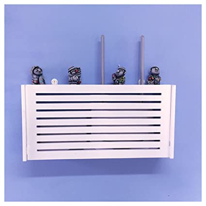 Beau Wall Mount WiFi Router Storage Boxes Shelf Blind