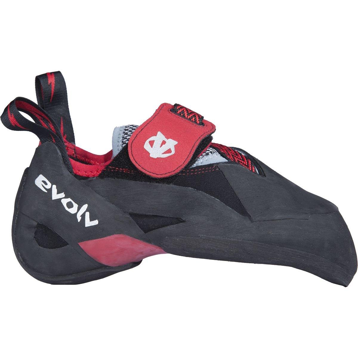 Evolv Agro Climbing Shoe 8.5 D(M) US ブラック/レッド B014GVYEA0