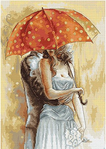 Gobelin kit Under Umbrella 2 Petit point G555