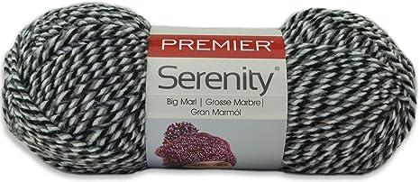 3 Pack Premier Yarns Everyday Soft Marl Yarn-Black Marl