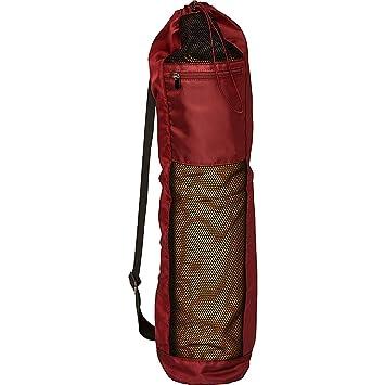 LOLË Yoga Mat Bag Bolsa para Esterilla, Rojo (Windsor Wine ...