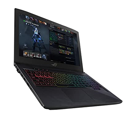 ASUS GL503VM-GZ128T ROG Strix HERO, MOBA Edition, 15.6-Inch Gaming Laptop (Intel i5-7300HQ, 8 GB RAM, 120 Hz 100 Percent sRGB Display, Nvidia GTX 1060 6 GB GPU, 1 TB FireCuda SSHD and 128 GB SSD, Full RGB Keyboard)
