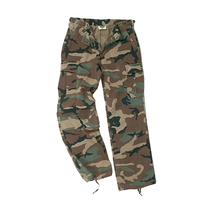 Mil Tec Ladies Pants Pre Bdu Cargo Army Combats Cut Trousers Wash PiXuOkTwZ