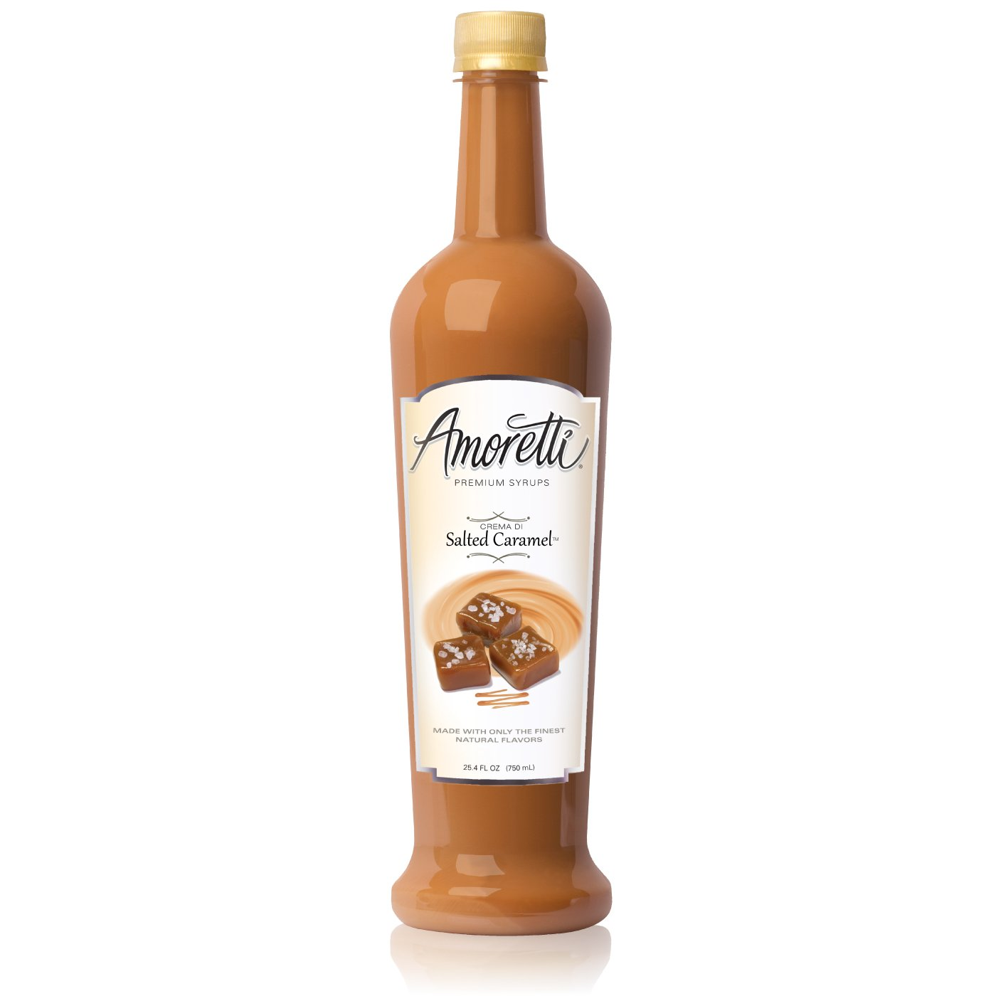 Amoretti Premium Crema Di Salted Caramel Syrup, 25.4 fluid Ounce by Amoretti (Image #1)