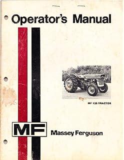 Massey ferguson mf 135 gd operators manual massey ferguson manuals massey ferguson 135 operators manual mf owners operator fandeluxe Gallery