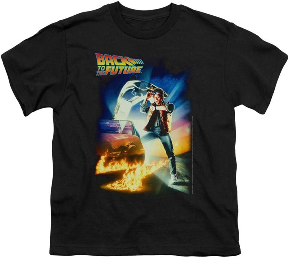Playera con diseño de póster de la película Back to The Future Science Fiction