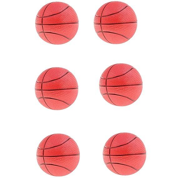 IPOTCH 6 Unids Juguete de Baloncesto Hinchable Bolas ...