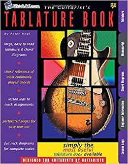 Guitar Tablature Books : the guitarist 39 s tablature book blank guitar tab paper peter vogl 9781893907362 ~ Hamham.info Haus und Dekorationen