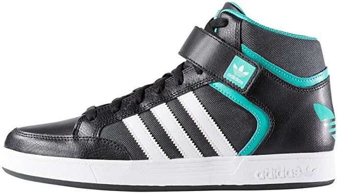 Amazon.com   Adidas Varial Mid Black Athletic Basketball Shoes ...