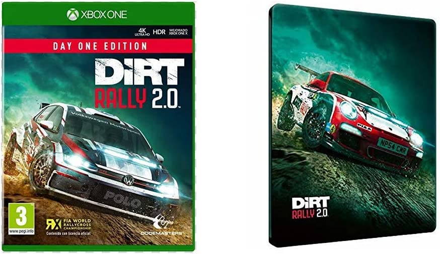 Codemasters - DiRT Rally 2.0, Day One Edition, Xbox One + Steelbook 3D: Amazon.es: Videojuegos