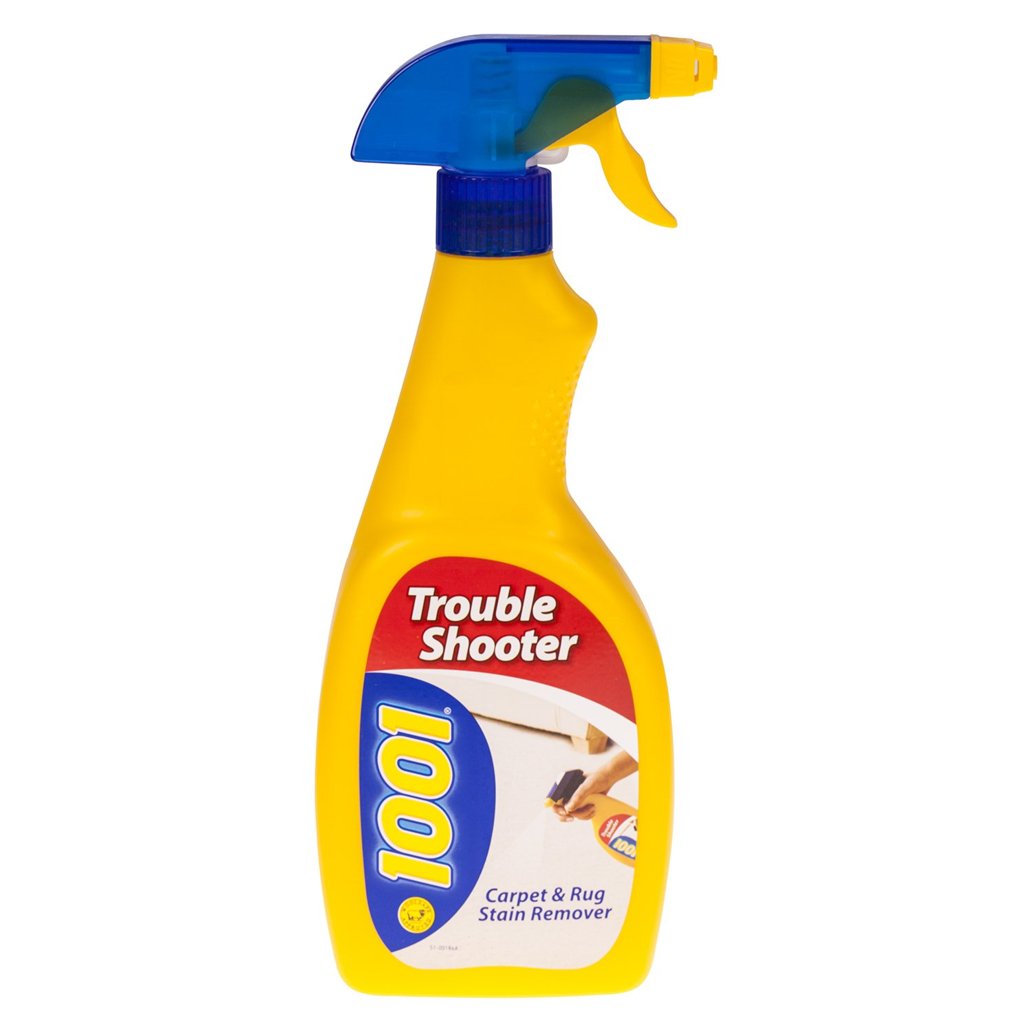 1001 3Pc 500Ml Trouble Shooter Carpets Upholstery Stain Cleaner Trigger Spray Ultra Citrus