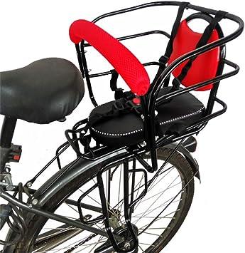 Asientos de seguridad para niños en bicicleta atrás, asiento de la ...