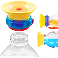 MONEE Sippy Cap - Turn Any Juice or Water Bottle into a Spill Proof Sippy Cup, Babies, Toddlers, Kids, Great for Travel Bags and Purses