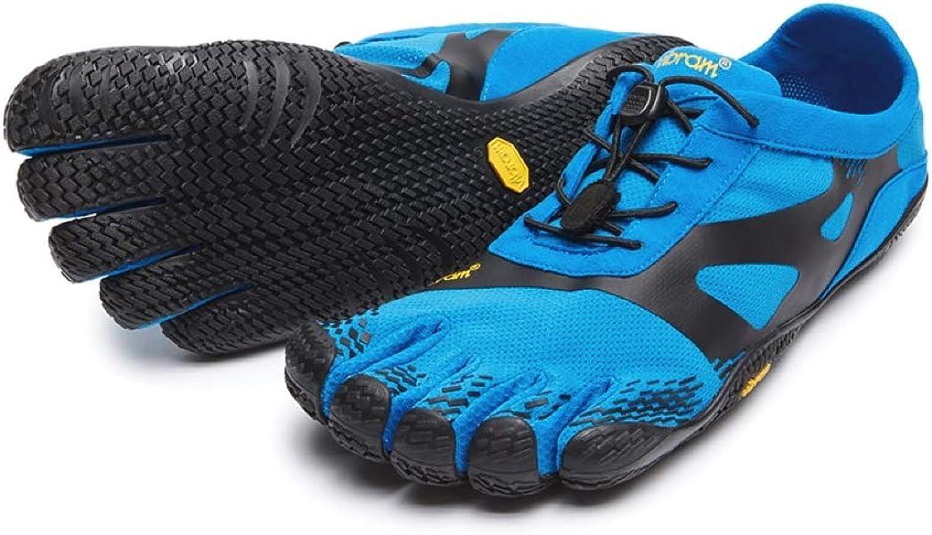 separation shoes eca64 15018 Five Finger KSO EVO Training Shoes - Blue Black. Back. Double-tap to zoom