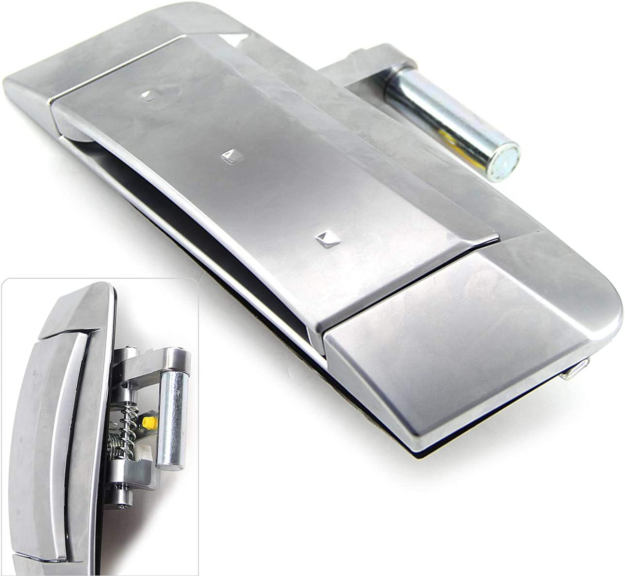 Fit Front Right Passenger Side and Chrome Color Replaces 80606-CD01E 80606-CD01D 80606-CD00B FEXON Exterior Door Handle Replacement for Nissan 350Z 2003 2004 2005 2006 2007 2008 2009