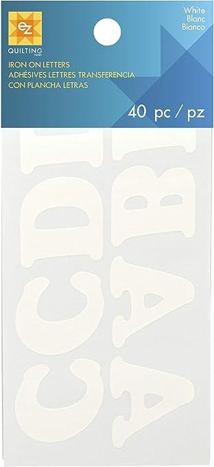 Simplicity Lettres thermocollantes paillet/é Or
