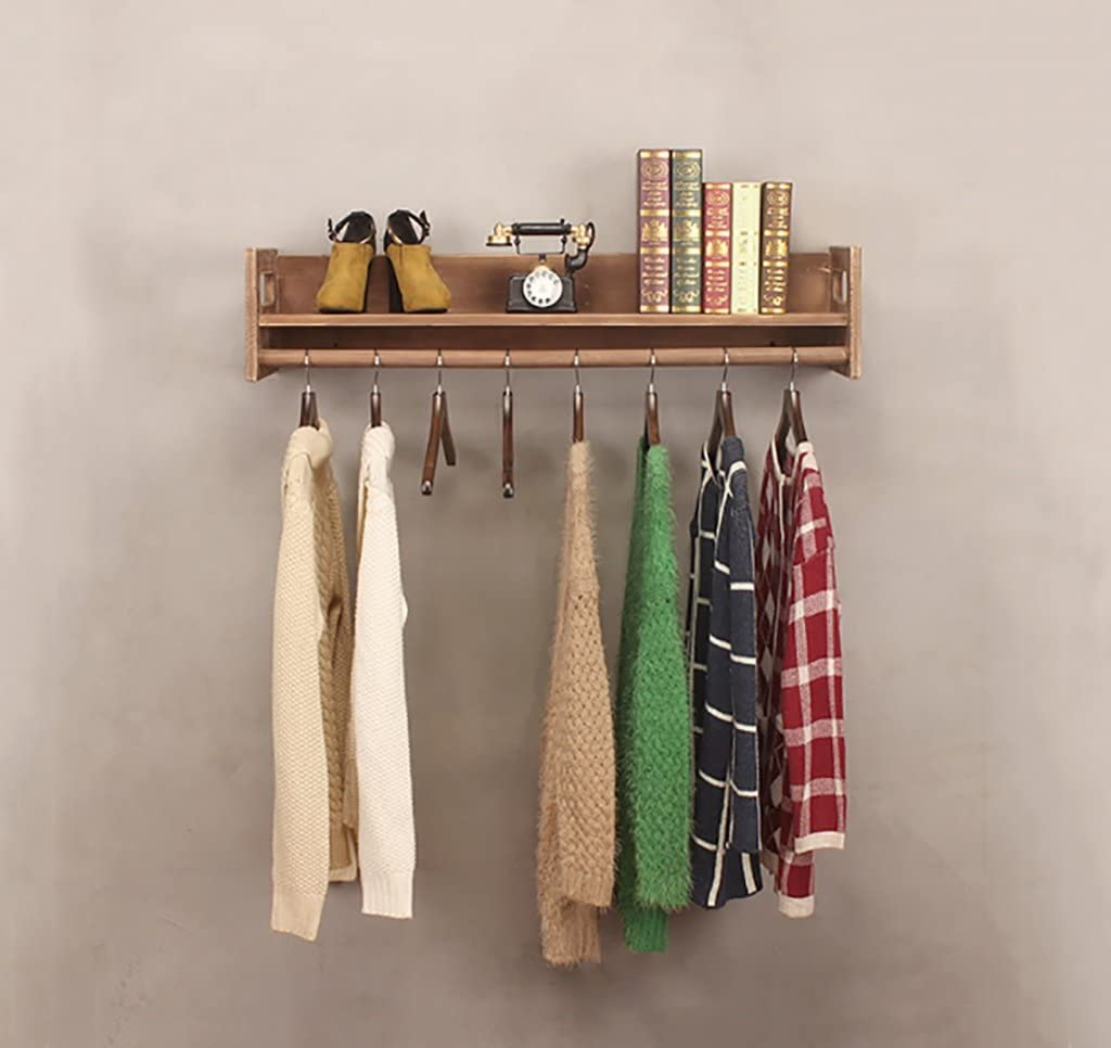 wood wall hanging rack