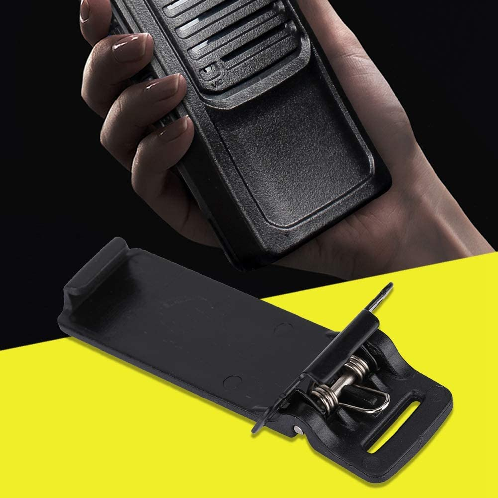 Serounder 5pcs UV-5R Belt Clips for Baofeng UV-5R UV-5RA UV-5RB UV-5RC TYT TH-F8 Ham Radio Walkie Talkie 2 Way Radios Walkie-Talkie: Electronics