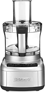 Cuisinart FP-8SV Elemental 8-Cup Food Processor, Silver (Certified Refurbished)