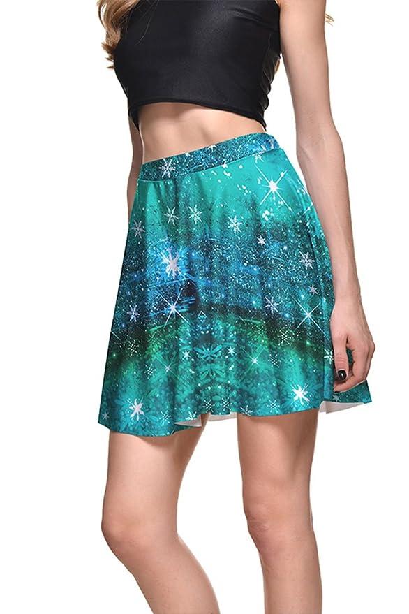 Starry Christmas Skirt