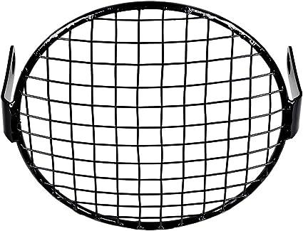 Wire Mesh 7 Wire Mesh Headlight Cover Black Halogen Stone Guard