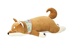 Livheart Cool Nemu Nemu Animals 2018 Summer Shiba Dog Kotaro Body Pillow with Cooling Effect (M) 58017-44