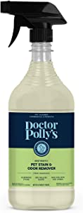 Pickle & Polly All Natural Enzyme Stain and Odor Eliminator for Pets | Powerful Cleaner for Dog and Cat Urine | Spot Cleaner for All Animal Messes