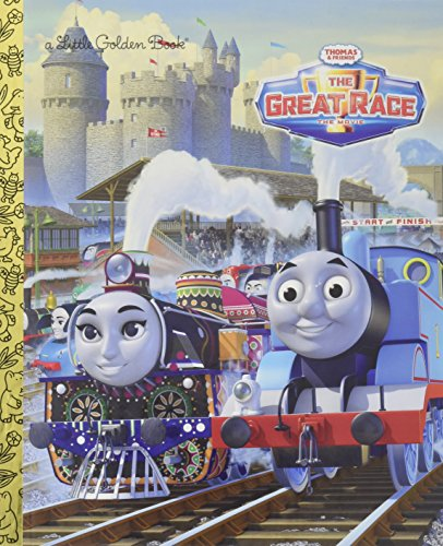 (Thomas & Friends The Great Race (Thomas & Friends) (Little Golden Book))