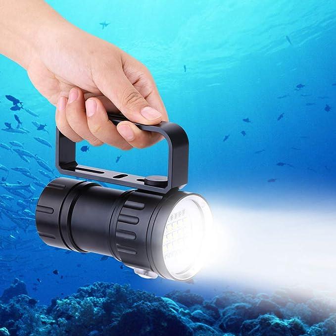 6000LM T6 LED Tauchen Taschenlampe Fackel Unterwasser 50M wasserdicht P st