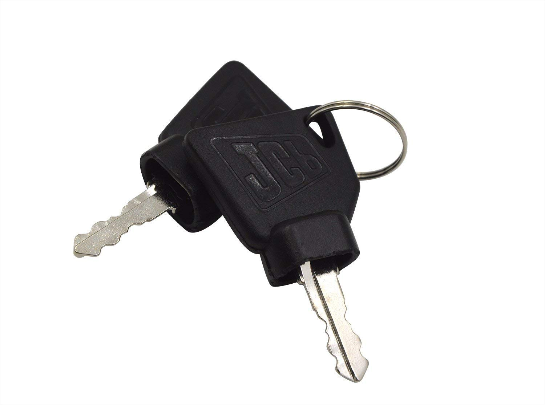 10L0L (2) Key for JCB Heavy Equipment