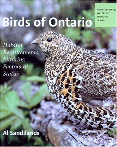 Birds of Ontario: Habitat Requirements, Limiting Factors and Status pdf