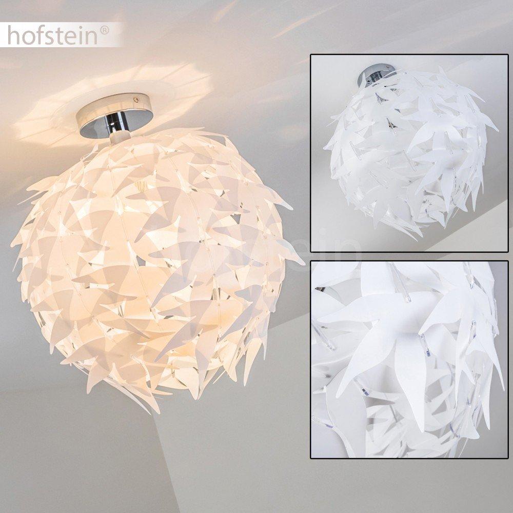 Extravagante Deckenleuchte in Weiß – Designer Deckenspot Dokkas aus ...