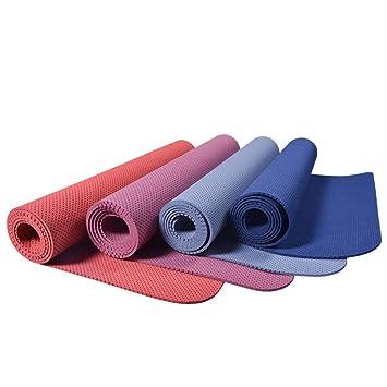 BARCTELRT Estera de Yoga, Posición de TPE de Estera de Yoga ...