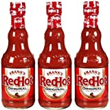 Frank's RedHot ( 3 PACK ) Original Cayenne Pepper Sauce, 5 oz Each