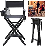 Aw Rolling Makeup Case Artist Cosmetic Train Table Trolley