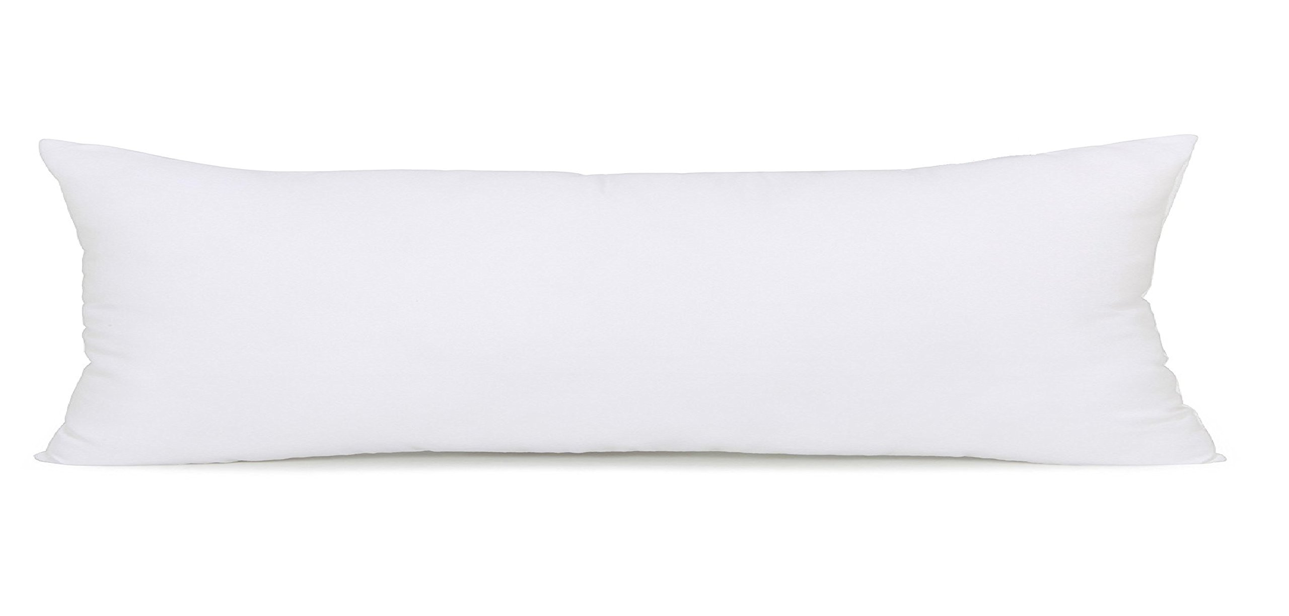Acanva Hypoallergenic Ultra Soft Bed Body Pillow, 20'' L x 54'' W